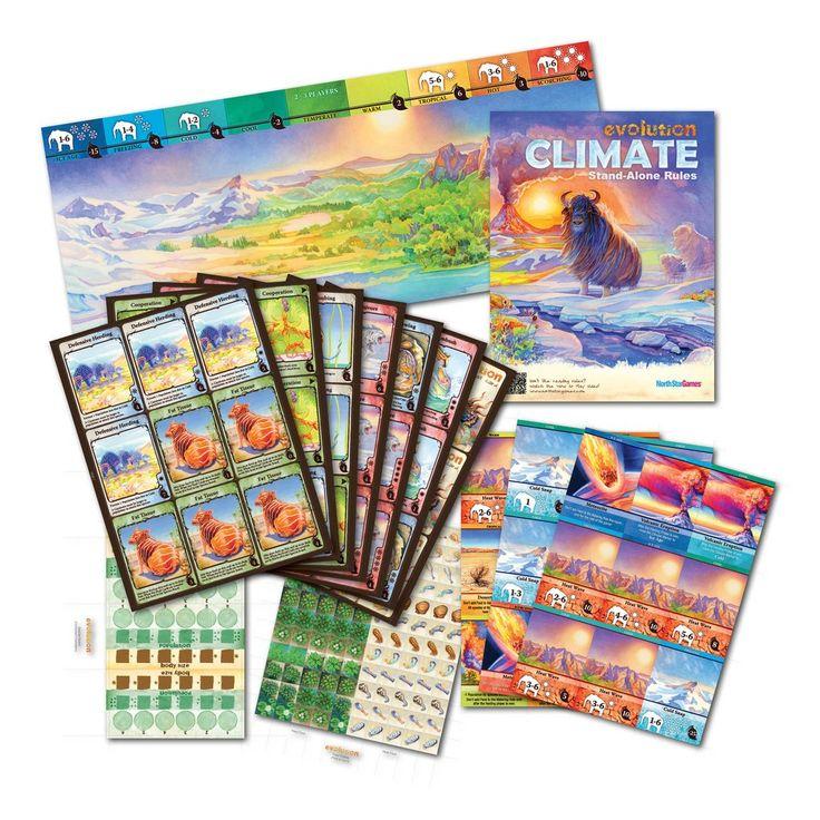 Revisitez la sélection naturelle avec le jeu de plateau Evolution: Climate (Ratiatum)