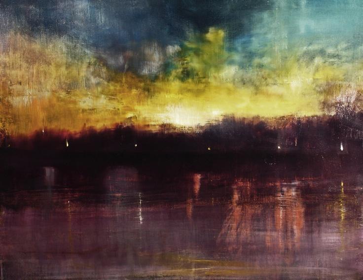Sunset in Paris   Maurice Sapiro