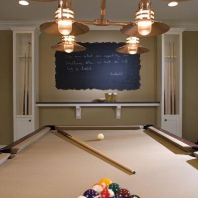 Basement Design Pool Table Area Bar Amp Shelves For The