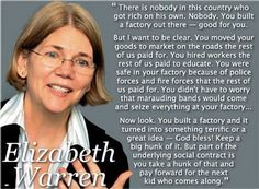 Elizabeth Warren, formerly of the Government Accounting Office (I believe).  Now running for Ted Kennedy's old seat in the Senate.