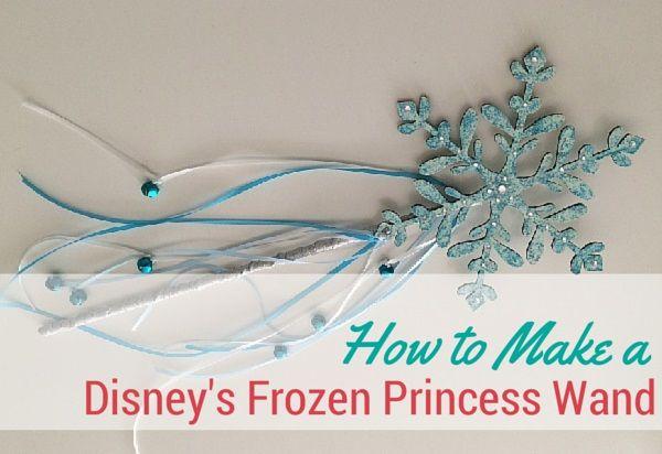 How to Make a Disney's Frozen Princess Wand | thegoodstuff