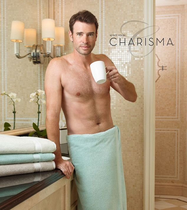 Scott Foley Wears a Towel?and Nothing Else!?in His Sexy New Charisma Campaign