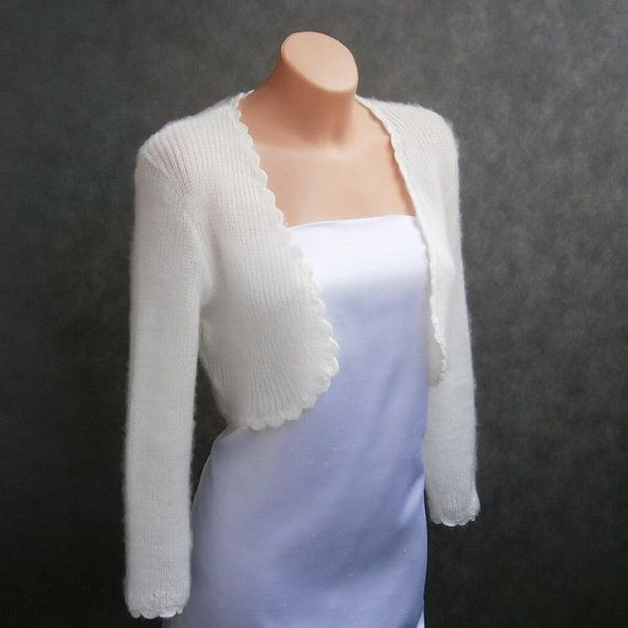 Lena  Not only Wedding bolero sweater size  S/M/L by MarMatKnit, $83.00