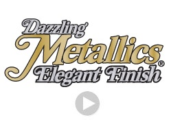 What Makes Dazzling Metallics Great-- VIDEO!