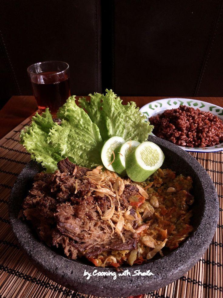 Empal Gepuk Resep Daging Sapi Resep Masakan Resep Masakan Indonesia