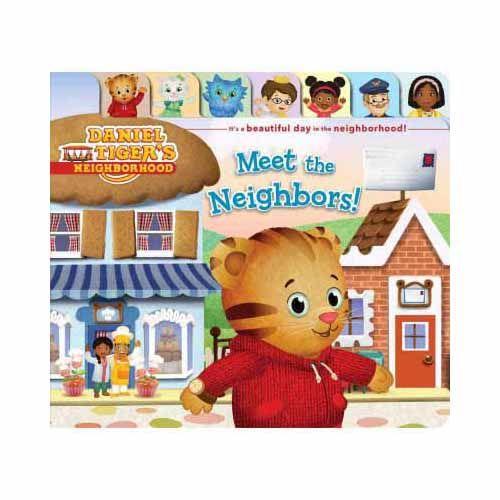 The Official PBS KIDS Shop | Daniel Tiger's Neighborhood Meet the Neighbors! Book
