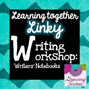 Writers Notebooks - student samples provided as Freebie download.