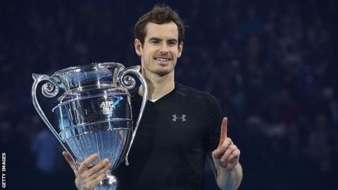 Andy Murray beats Novak Djokovic to win ATP World Tour Finals title and seal world number one spot - BBC Sport