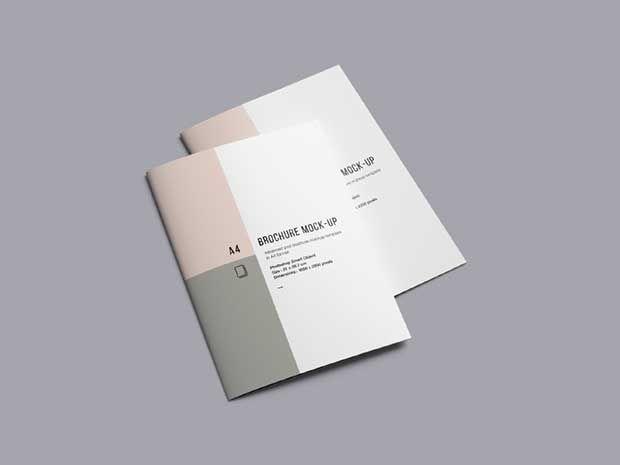 55 Best Free Brochure Mockup Psd Templates Download Brochure