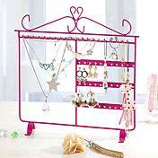 Metal Made Princess Style Roze Sieraden Shelf – EUR € 10.31
