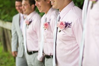 #groomsmen - pink wedding