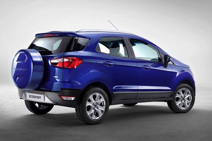 2015 Ford EcoSport - Back - Side
