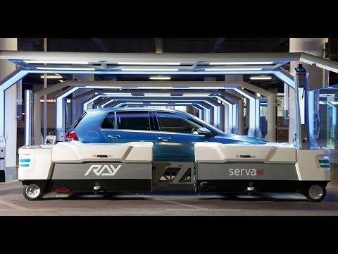 Premium PLUS Parken am Flughafen Düsseldorf mit serva transport systems - YouTube
