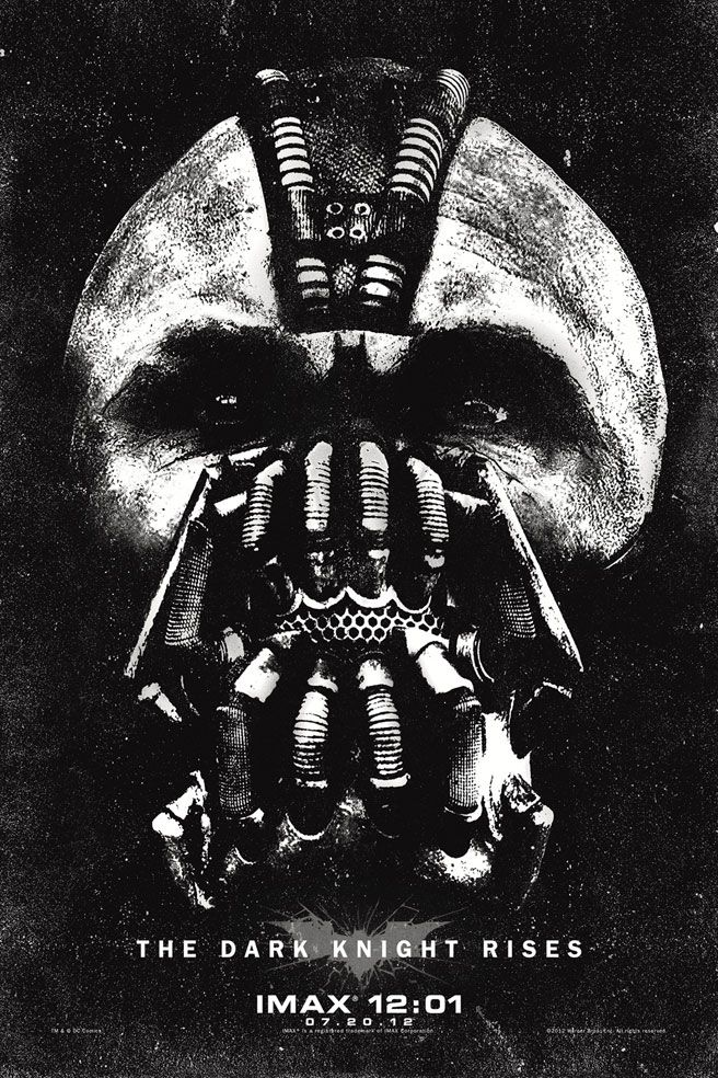 Check out this awesome new TDKR Bane poster that you can get for FREE if you see the film in IMAX - JoBlo.com: Film, Bane, The Dark Knights, Poster Frame-Black, Knights Rise, Darkknight, Movies Poster, Imax Poster, Batman