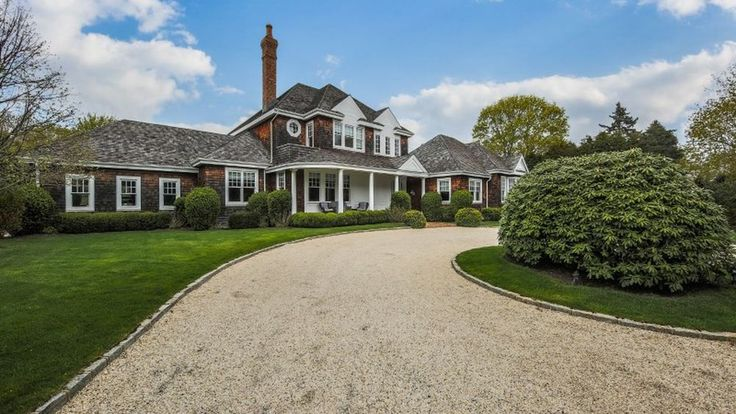 George Stephanopoulos and actress wife Alexandra Wentworth have put their Southampton home on the market, asking $6.995M for the property, which is on a flag lot north of Hill Street.