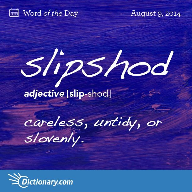 This is such a nice word. I'm using it.