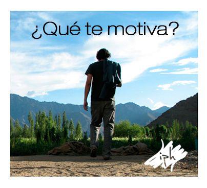¿Qué te motiva?