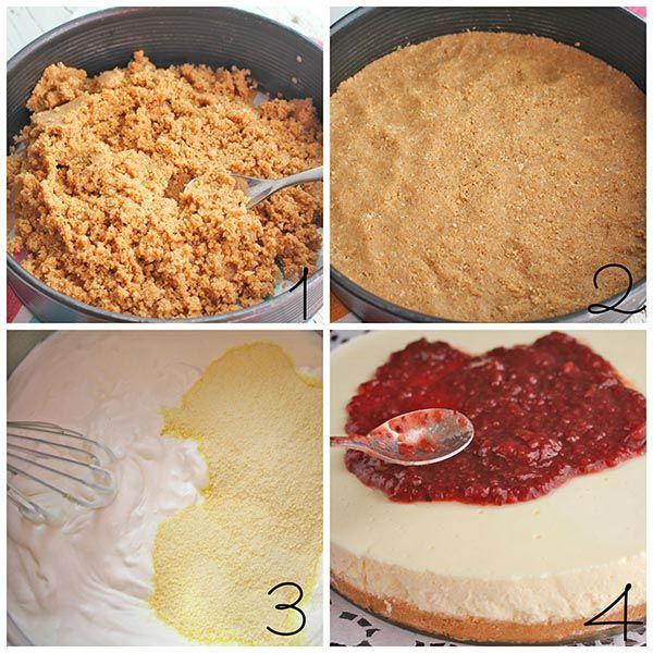 Tarta de queso philadelphia en 4 pasos