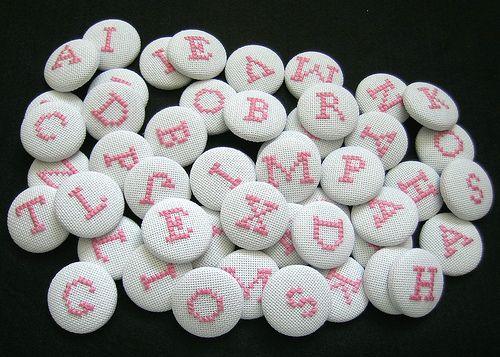 cs letter buttons