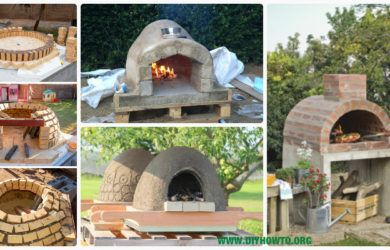 DIY Outdoor Pizza Oven Ideas Projects with Instructions