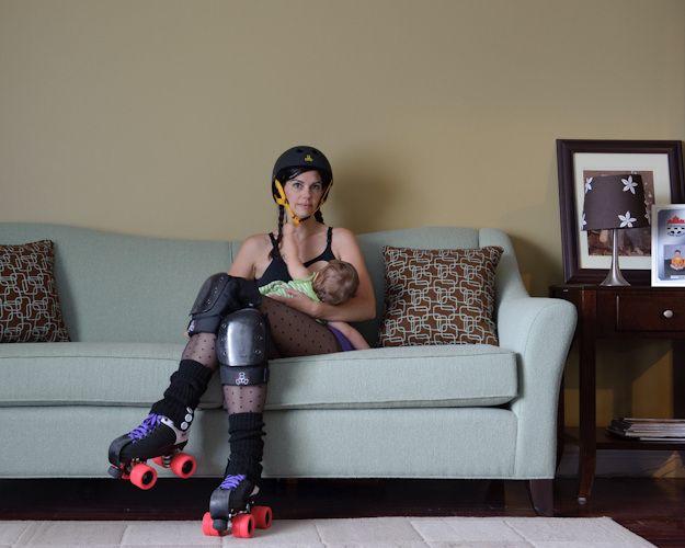 Blister Sister & Scarlet by Kate Wilhelm: Rollers Derby, Derby Rocks, Rocks On, Blister Sisters, Rollers Skating, Baby Helmets Pinterest, Roller Derby, Rocks N Rolls, Derby Girlsmom