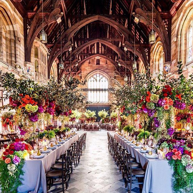 What A Wedding Venue Amazing Flowers Decorations