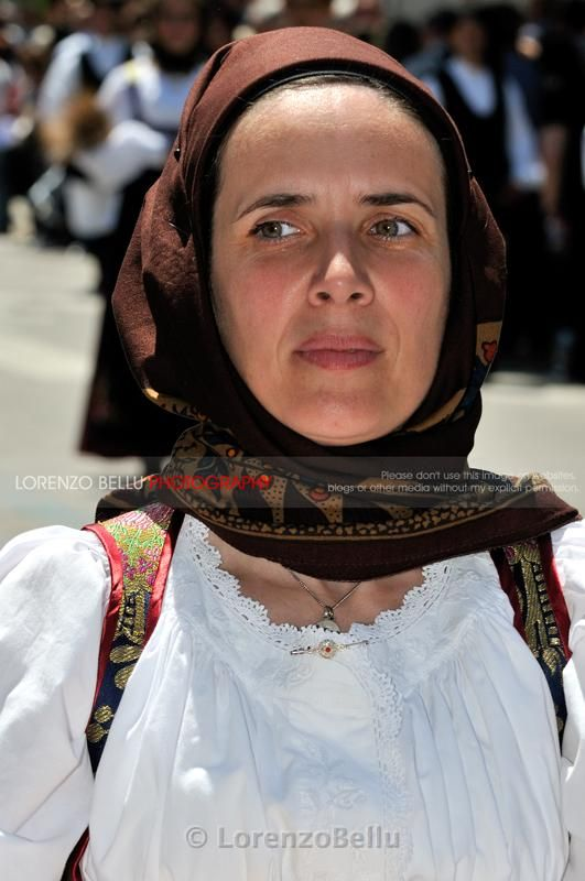 traditional dress/costume from Sardinia