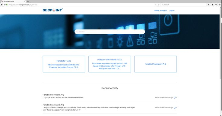 New SecPoint New Help Desk Ticket System with Knowledge Base  https://support.secpoint.com/hc/en-us #secpoint #support #helpdesk #helpcenter #utm #firewall