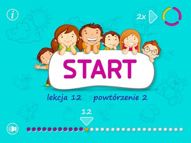 Kiddy Words app Moje Slowa: Good and simple practice for kids to start learning Polish language. All while having fun.  #KidyWords