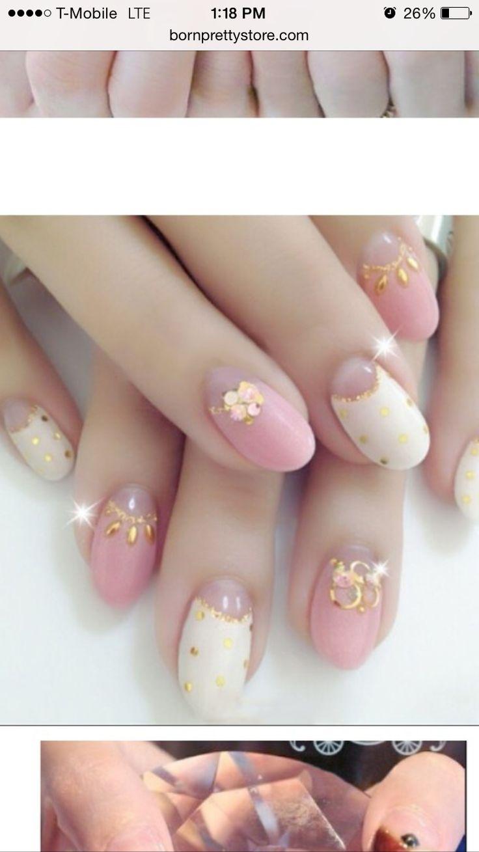 34 best Stud Nail Art images on Pinterest   Studded nails, Nail arts ...
