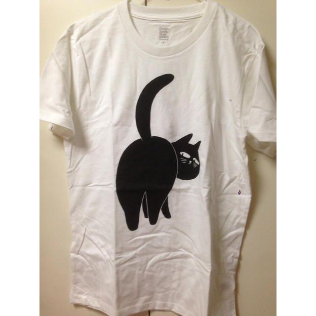 Design Tshirts Store graniph(グラニフ)の【値下げ!】グラニフ 黒ねこTシャツ レディースのトップス(Tシャツ(半袖/袖なし))の商品写真