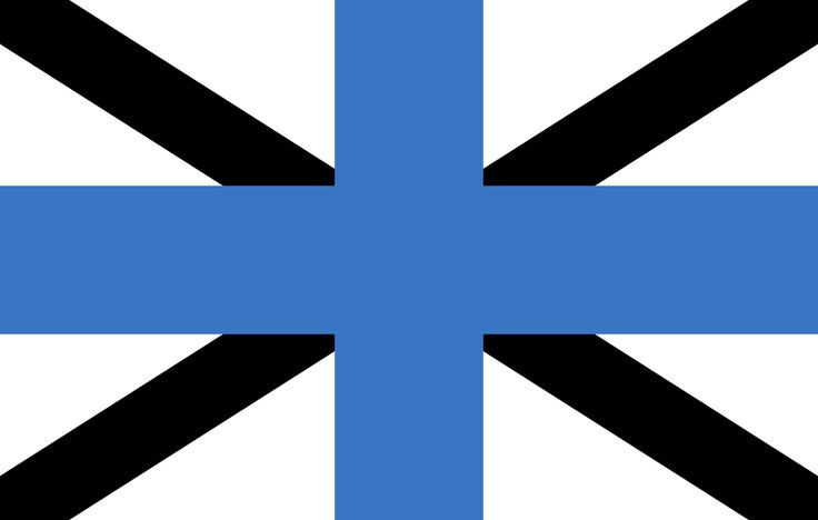 Our Estonia flags are produced in the traditional 2:1 ratio used for National flags in the UK so this flag will match others of the same size if you are fl