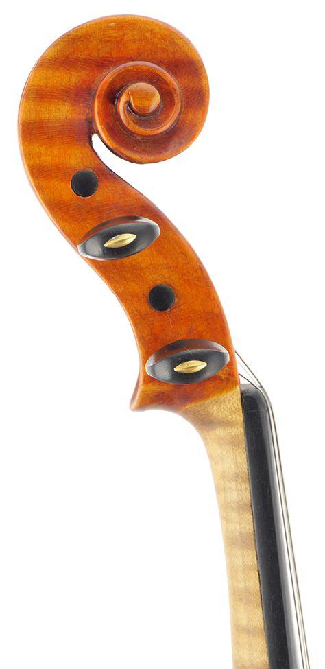 Nice violin head
