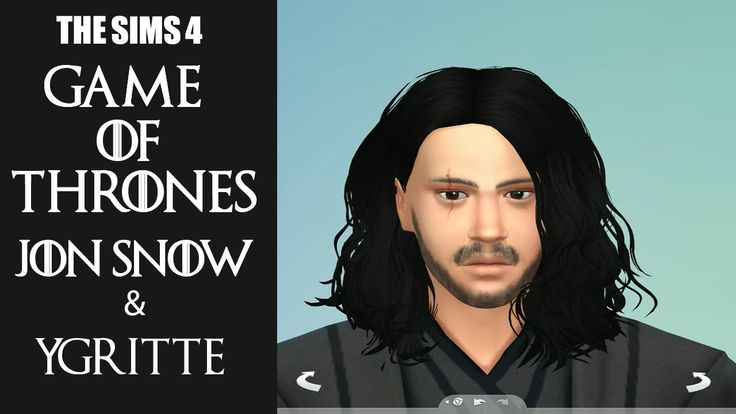 The Sims 4 Jon Snow and Ygritte Characters