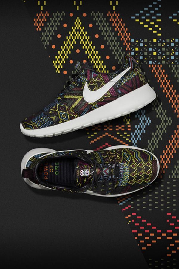 008a127b958 The NikeWomen Roshe One Jacquard celebrates Black History Month and the  platform sports provide to bring. Women Nike ShoesWomen ...