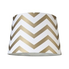Target $19.99 Mix-and-Match Lamp Shade - Chevron Lamp Shade - Gold (Large)