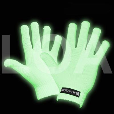 Guanti bianchi, diventano fosforescenti al buio o sotto le luci UV. Per saperne di più http://www.loacenter.com/guanti-glow-gloves-p-12744.html?cPath=237_10492