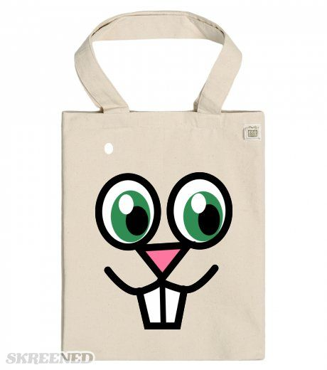 Bunny Face ECO Tote bags