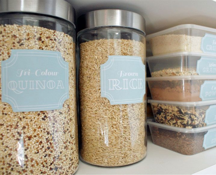Make Your Own Spice Jars - How To Make Your Own Spice Jar Labels