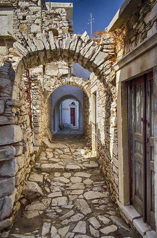 Siesta Hour in Naxos, Greece