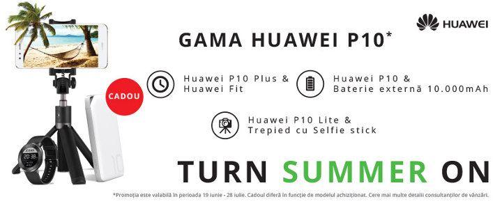 Cadouri oferite la telefoane mobile Huawei P10 si P9