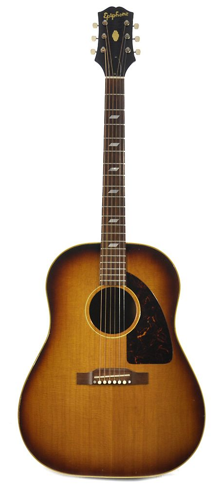EPIPHONE Texan Sunburst 1961 | Chicago Music Exchange