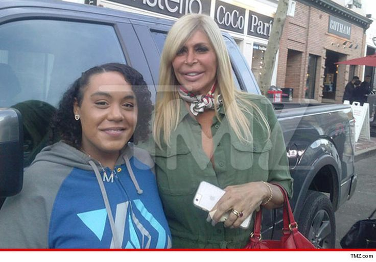 """Big Ang is out and about and flaunting new blonde locks ... just a few weeks after undergoing a lifesaving operation to remove a cancerous tumor from her neck. The """"Mob Wives"""" star was looking good Saturday outside Teak restaurant in Red Bank, NJ, and even stopped to pose with a fan. We're guessing the neckerchief is there to cover any surgery scars -- in the most stylish way possible. Sources close to Ang tell us she lightened up before the surgery ... because she felt like she just needed…"""