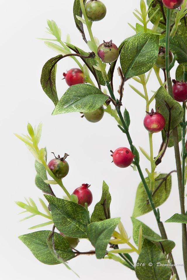 Веточка с ягодами выс.73см, 5ответвлений.