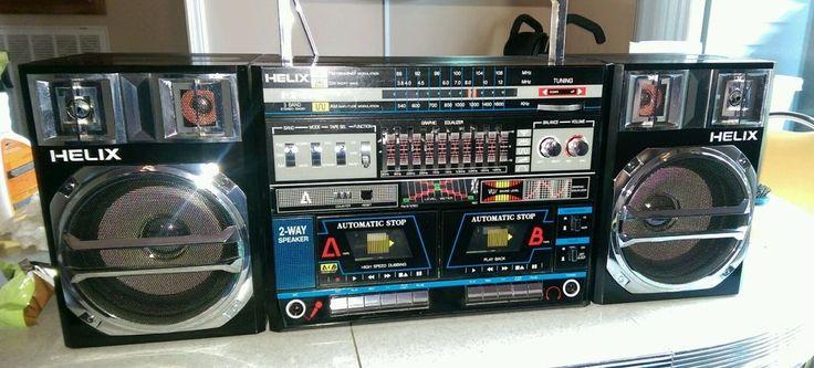 редкий 1980 бумбокс Helix hx810 MINTY Ultra хорошее см фото 1 владелец | Бытовая электроника, Переносные аудиосистемы и наушники, Портативные стереосистемы, бумбоксы | eBay!