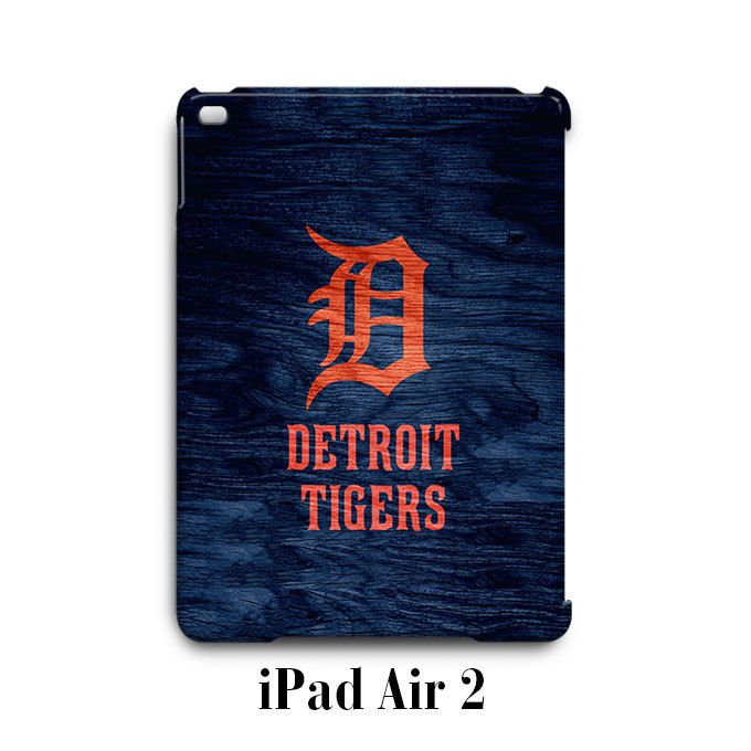 Detroit Tigers Custom iPad Air 2 Case Cover Wrap Around
