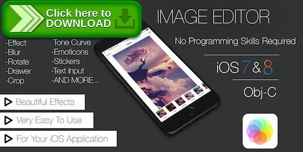 [ThemeForest]Free nulled download Image Editor App Template (iOS) with iAd/Admob from http://zippyfile.download/f.php?id=45986 Tags: ecommerce, blur, color, draw, editor, effect, filter, image, instagram, ios, photo, photoshop, rotate, social, tone, tool