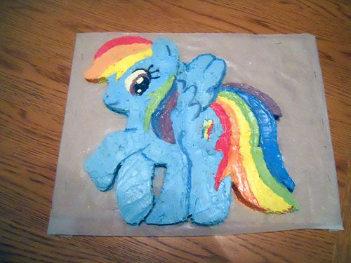 rainbow dash cake template images best top result rainbow dash