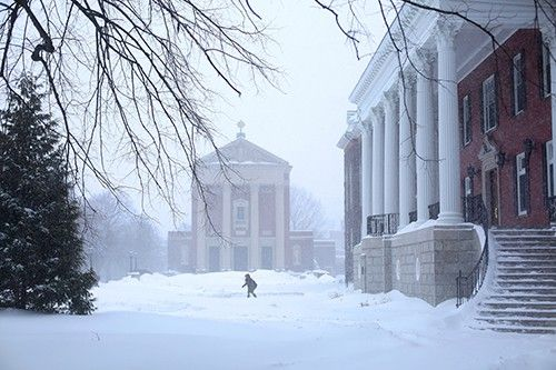 Photo Gallery: More Than 100 Inches of Snow Buries Holy Cross Campus | College of the Holy Cross