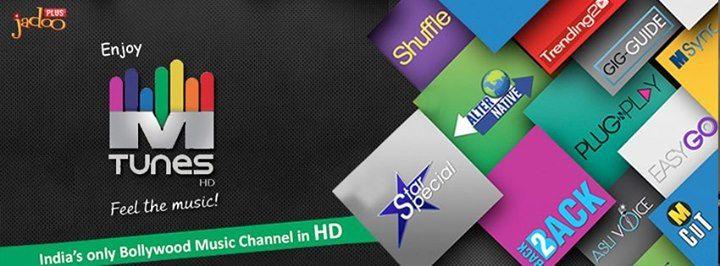 Watch High Definition Bollywood Music Channels only On JadooTv www.jadoobox.dk